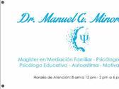 Dr. Manuel G. Minorta C. Psicólogo y Magister